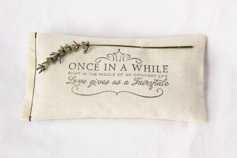 Fairytale Wedding Lavender Sachet Unique Favor