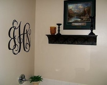 Wall Decal - Wall Decal Monogram - Sticker