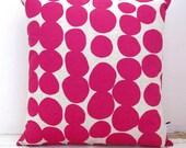 SALE Spotty cushion Pink