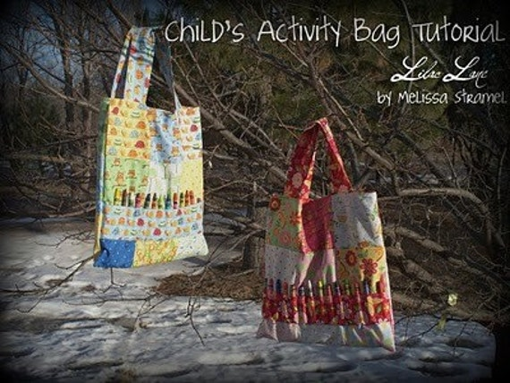Children's Activity Bag KIT from Moda Bakeshop Tutorial