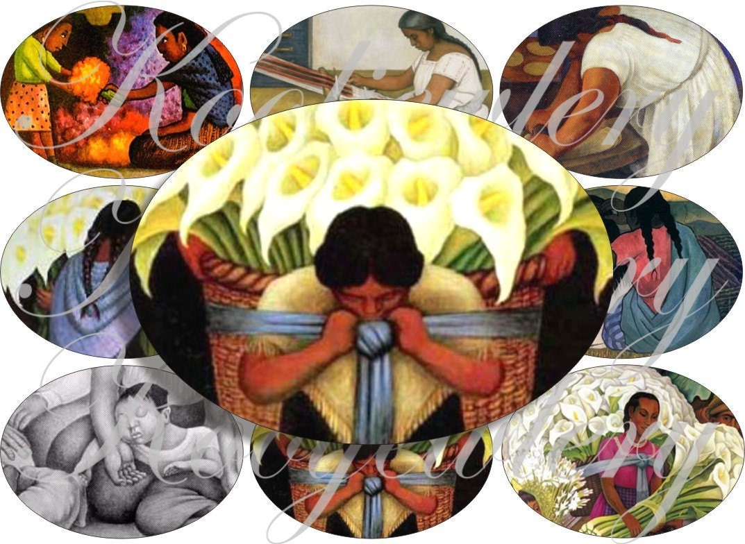 diego rivera paintings images large oval for belt buckle and