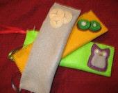 SALE Pencil bag \/ Makeup bag