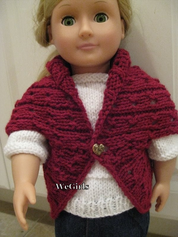 Knit Pattern for 18 inch American Girl Dolls Turtleback