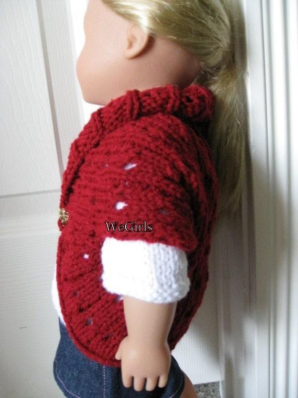 Knit Pattern for 18 inch American Girl Dolls Turtleback by ...