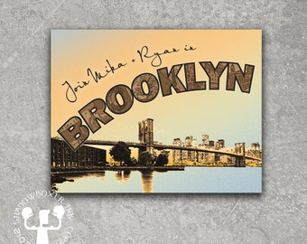 Brooklyn Post Card Save the Date