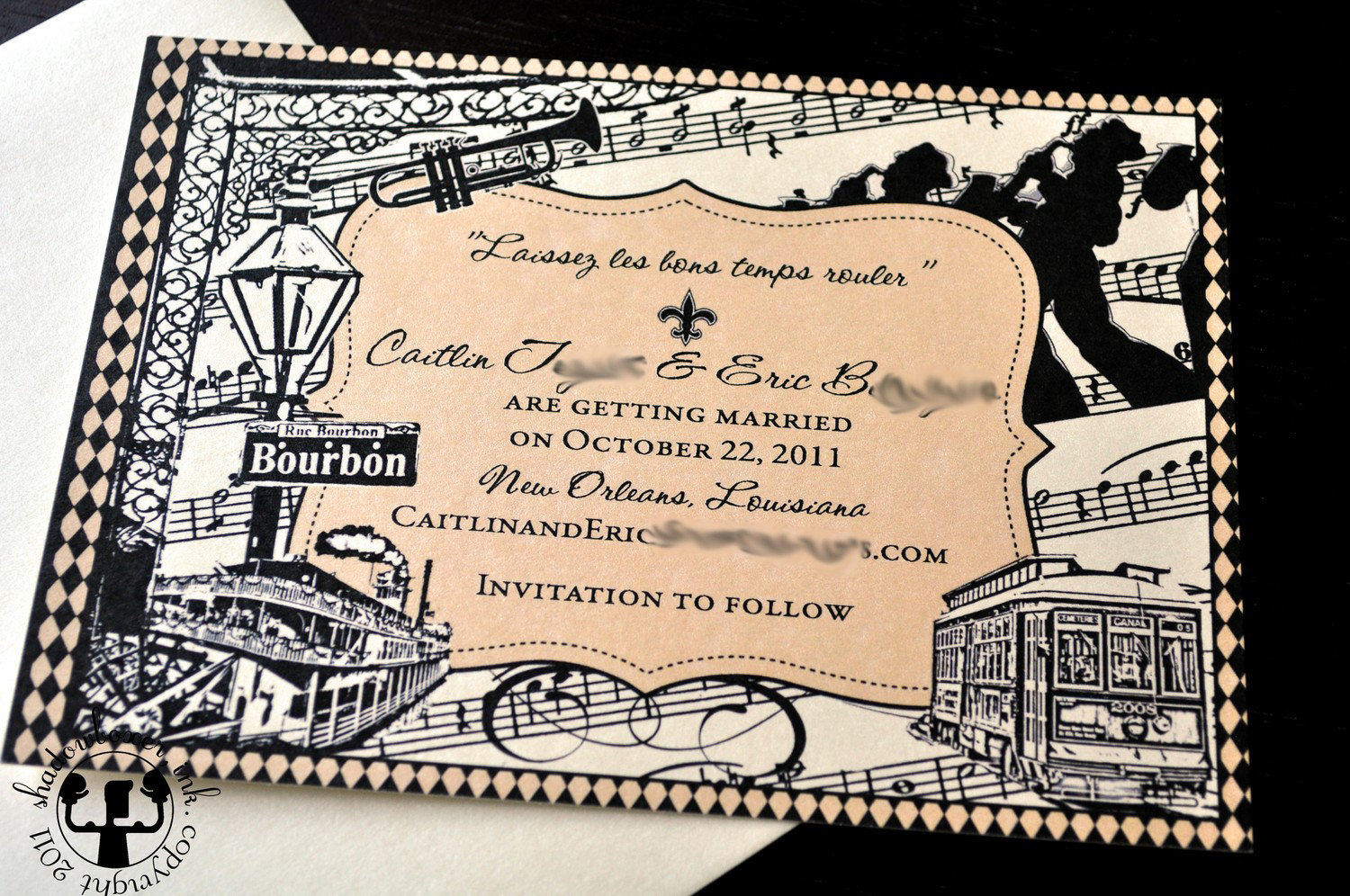 Wedding Invitations New Orleans