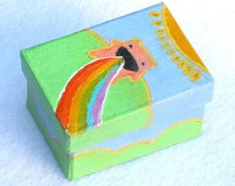 Rainbow Vomit Box