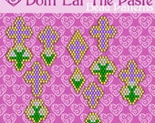 Easter Cross and Lily Earring Patterns