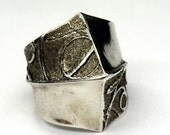medieval ring, cuttlefish bone casting