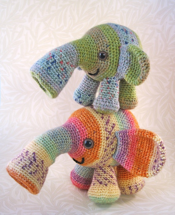 Tooterphants Amigurumi Pattern PDF