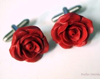 Roses - OOAK Cufflinks