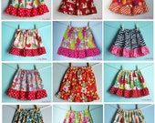 Now Available: ANY Lillian Belle Girls Ruffle Skirt - Extended Size 7/8 -This Listing Only