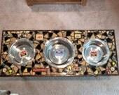 Ashley - Custom Triple Dog Feeder Order