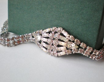 Vintage Rhinestone Collar Choker
