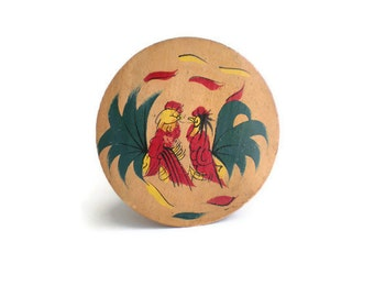 Vintage Rooster Patty Press