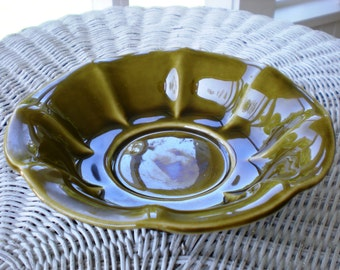 Vintage McCoy Pottery Candy Nut Dish