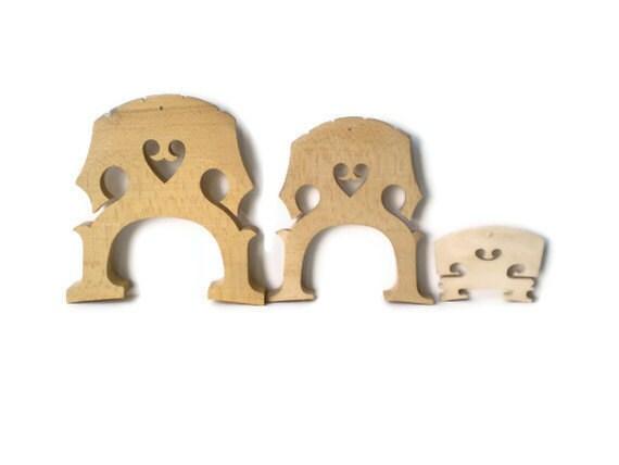 Cello and Violin Bridges for Repurposing Craft