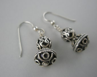 Filigree Beads in Two Sizes