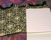 Jumbo Damask Matchbook Note Pads- Appreciation Gifts - Three pack