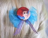 The Little Mermaid Satin Ariel Hair Bow