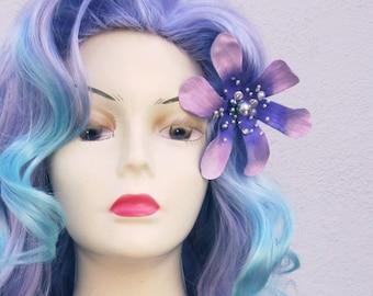 Mermaid Lagoon Purple and Aqua Adult Costume Wig From Under The Sea a True Enchantment Original