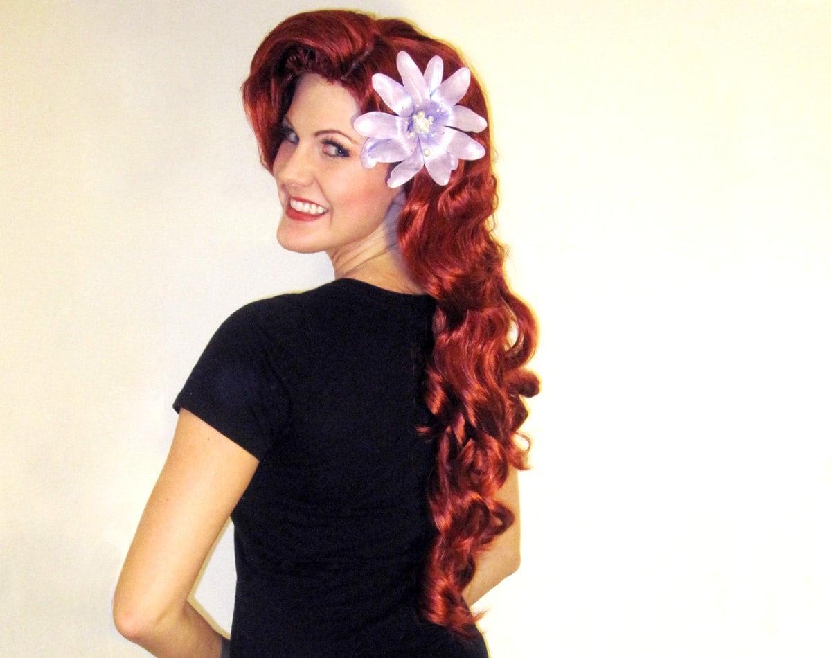 Ariel Wig Adult 5