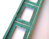 Collage Picture Frame for 3) 4x6 or 5x7  images multi opening collage photo picture frame choose from 63 colors