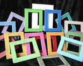 "Picture Frame Package 4) 11x14, 12x12 or 10x10 barnwood picture frames 1.5"" wide You choose COLOR, STYLE from 63 colors"