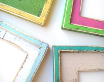"""2 Color Picture frame 24 x 30 or a 24 x 36 two color choice Shake it up Baby style """"ORIGINAL"""" 2 color picture frame"""