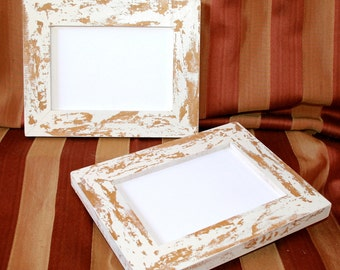 "Picture Photo frame 11x14 OR 10x10 OR 12x12 ""Cape Cod"" Style Shabby Picture Photo frame  (Available in any size)"