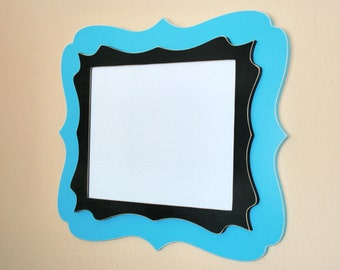 """Whimsical Picture Frame 8x10  """"Doubled Up"""" chunky Picture frame You choose from 63 colors"""