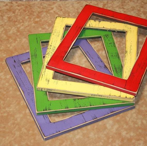 """PICTURE FRAME PACKAGE 7 Picture frames total  1) 2.25"""" 11x14, 2) 2.25"""" 8x10's, 2) 1.5"""" 5x7's, 2) 1.5"""" 4x6's (You Choose from 63 Colors)"""
