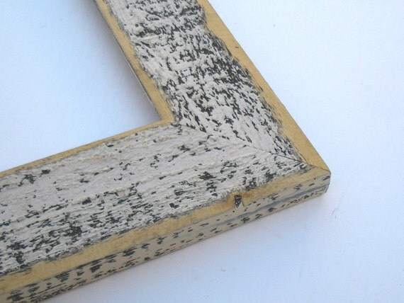 22 By 28 Frame: 22x28 Colored Barnwood Old White Picture Photo Frame 2-1/2