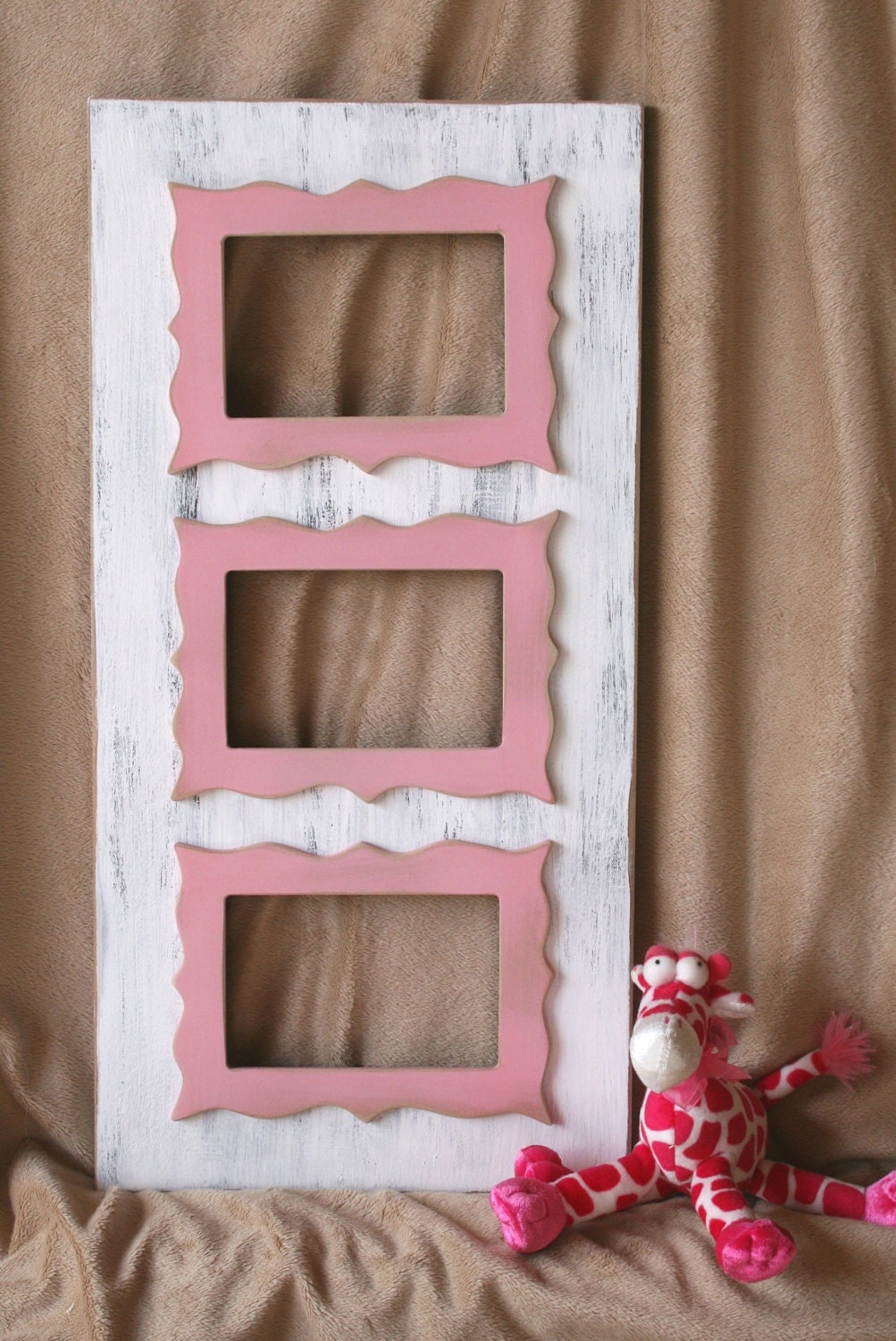 multi opening picture frame 3 8x8 or 8x10 or whimsical. Black Bedroom Furniture Sets. Home Design Ideas
