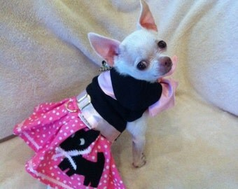 The Pink Chihuahua Skirt-  Dog Halloween Costume