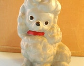 Vintage Ceramic Poodle Figurine