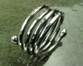Spiral Ring-Sterling Silver