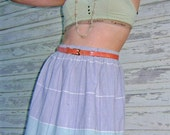 Vintage Pastel High-Waisted Skirt