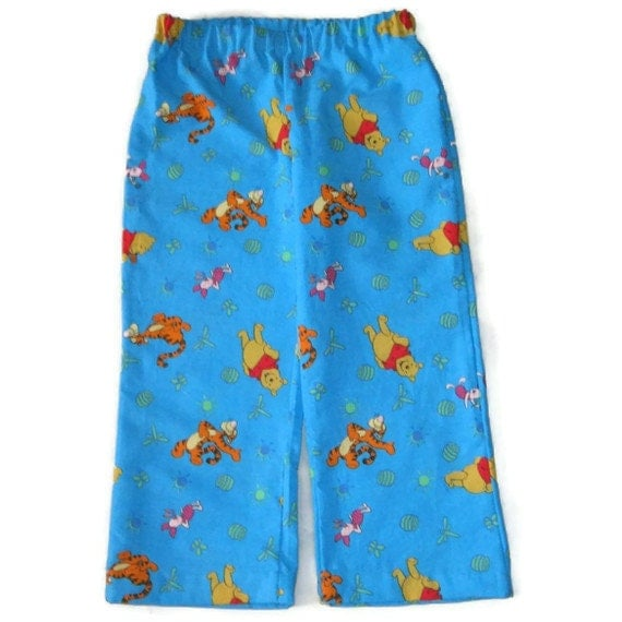 Winnie The Pooh Pajama Bottoms Childs Size 4 Or 5