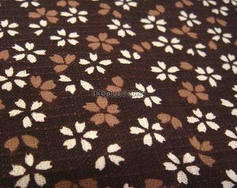 Sale -- Lovely Baby Sakura Sienna in Brown - Cotton Slub - EK-QS38169F