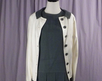 French School Girl Dress and Jacket     Size M/L