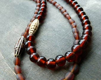 Double espresso mix and match beads