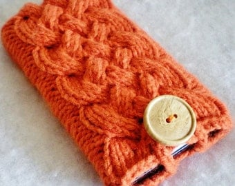 All Colors Celtic Cable Knit Cell Phone Case, Android Phone Case, iPhone Case, Smartphone Cozy, Android Case, iPhone Cover, iPhone Sleeve