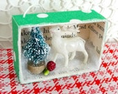 Winter Wonderland Little Deer Diorama Ornament