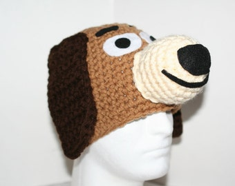 Adult size dog hat - inspired by Slinky - this item was featured in people pets online 9.28.10