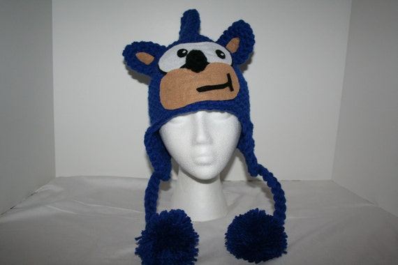 Fun Video Game Character Hat Inspired By Sonic The Hedgehog