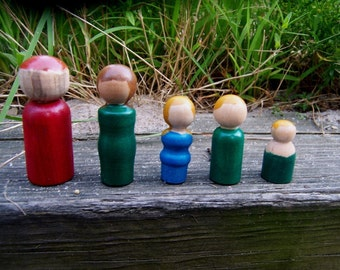 Wee People-set of five