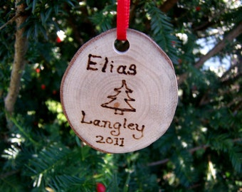 American Sycamore Personalized Christmas Ornament