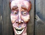 Happy Guy Ceramic Mask