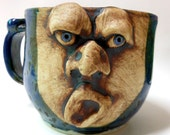 16oz Yawning Face Mug